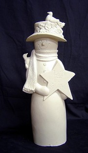Snow Greeter - Sarah BISQUE (Unpainted)