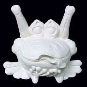 I'm Just a Frog BISQUE (Unpainted)