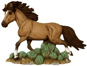 Horse Walking - Stallion BISQUE (Unpainted)