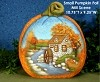 Pumpkin - Fall / Mill Scene SM BISQUE (Unpainted)
