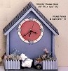 Clock - Country House BISQUE (Unpainted)
