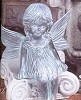 Fairy - Child Sitting BISQUE (Unpainted)