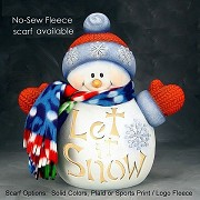 CUSTOM: Bundle Snowman (NAME) BISQUE (Unpainted)