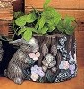 Planter - Rabbit Stump
