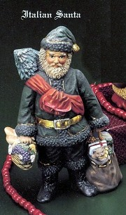 Santa Old World - Italian BISQUE (Unpainted)