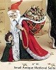 Santa - Antique Medieval SM BISQUE (Unpainted)