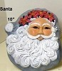 Mask - Santa Old World BISQUE (Unpainted)