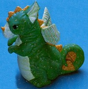 Softy Dragon *Bank BISQUE (Unpainted)