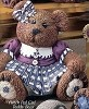 Teddy Bear - Girl Fluffy BISQUE (Unpainted)